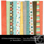 Thats What Friends Are For Designer Paper Pack-$4.00 (Ettes and Company by Fayette)