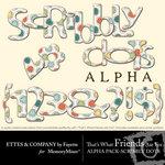TWFAF Scribbly Dots Alphabet Pack-$0.99 (Fayette Designs)