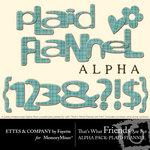 Twfaf alpha plaidflannel small