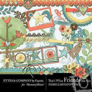 Twfaf embellishments medium