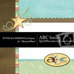 ABC Book QuickMix-$4.99 (Ettes and Company by Fayette)
