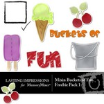 Mixin Buckets of Fun Freebie Pack 1-$0.00 (Lasting Impressions)