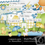 Duck Weather Embellishment Pack-$2.99 (Carolyn Kite)