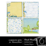 Duck Weather Layered Paper Pack-$1.25 (Carolyn Kite)