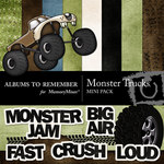 Monster Truck Mini Pack-$4.00 (Albums to Remember)