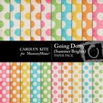 Going Dotty Paper Pack-$2.99 (Carolyn Kite)