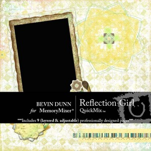 Reflection girl qm medium
