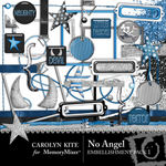 No Angel Embellishment Pack 1-$2.99 (Carolyn Kite)
