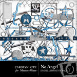 No Angel Embellishment Pack 2-$2.99 (Carolyn Kite)