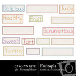 Fruitopia Wordbits-$1.99 (Carolyn Kite)