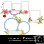 Fruitopia Frame Clusters-$2.49 (Carolyn Kite)