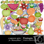 Fruitopia Embellishment Pack-$3.00 (Carolyn Kite)