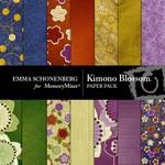 Kimono Blossom Paper Pack-$4.00 (Emma Schonenberg)