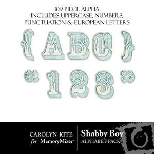 Shabby boy alpha medium