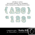 Shabby Boy Alphabet Pack-$1.00 (Carolyn Kite)