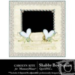Shabby Boy Square QuickMix-$3.99 (Carolyn Kite)