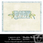 Shabby Boy Landscape QuickMix-$4.99 (Carolyn Kite)