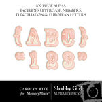 Shabby Girl Alphabet Pack-$1.00 (Carolyn Kite)