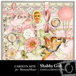 Shabby Girl Embellishment Pack-$2.99 (Carolyn Kite)