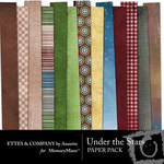 Under The Stars Paper Pack-$3.99 (Ettes and Company by Annette)