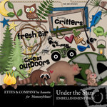 Under The Stars Embellishment Pack-$3.49 (Ettes and Company by Annette)