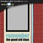 Grandpa's Attic-$3.99 (s.e.i)