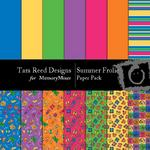 Summer Frolic Paper Pack-$1.50 (Tara Reed Designs)