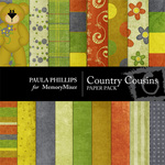 Country Cousins Paper Pack-$4.00 (Paula Phillips)