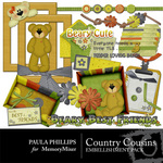 Country Cousins Embellishment Pack-$2.99 (Paula Phillips)