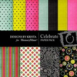 Celebrate Paper Pack-$4.00 (Designs by Krista)