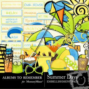 Summer day emb medium