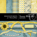 Sunny Blue Sky Mini Pack-$4.00 (Designs by Krista)