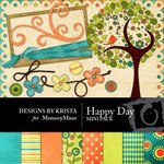 Happy Day Mini Pack-$4.00 (Designs by Krista)