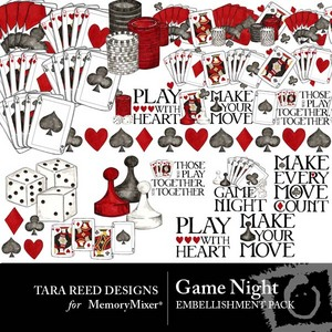 Game night emb medium
