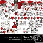 Game Night Embellishment Pack-$3.50 (Tara Reed Designs)