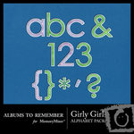 Girly Alphabet Pack-$1.50 (Albums to Remember)