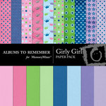 Girly Paper Pack-$4.00 (Albums to Remember)
