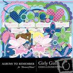Girly Embellishment Pack-$3.00 (Albums to Remember)
