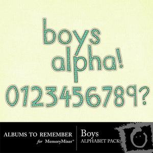 Boys alpha medium