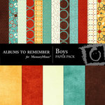 Boys Paper Pack-$4.00 (Albums to Remember)