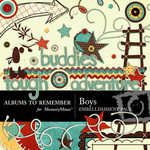 Boys Embellishment Pack-$3.50 (Albums to Remember)