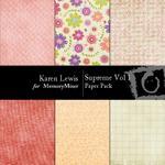 Supreme Paper Pack Vol 1-$2.99 (Karen Lewis)