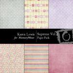 Supreme Paper Pack Vol 2-$2.99 (Karen Lewis)