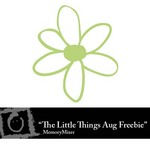 The Little Things August Freebie-$0.00 (Lasting Impressions)