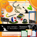 Summer Fun Mini Pack-$3.50 (Ken Umphrey)