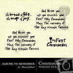 Communion wordart small