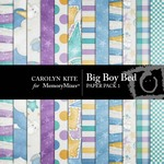 Big Boy Bed Paper Pack 1-$3.99 (Carolyn Kite)