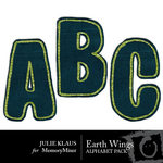 Earth Wings Alphabet Pack-$1.00 (Julie Klaus)