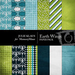 Earth Wings Paper Pack-$4.00 (Julie Klaus)