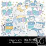 Big Boy Bed Embellishment Pack-$2.99 (Carolyn Kite)
